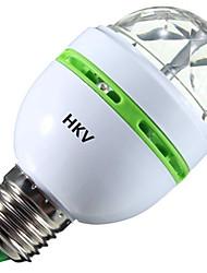 3W Lampadine globo LED 1 LED ad alta intesità 200-300 lm Colori primari V 1 pezzo