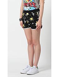 Dámské Aktivní Jednoduchý strenchy Aktivní Kalhoty Štíhlý Středně vysoký pas Čistá barva Jednobarevné Geometrický