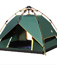3-4 Pessoas Tenda Duplo Um Quarto Barraca de acampamentoCampismo Viajar