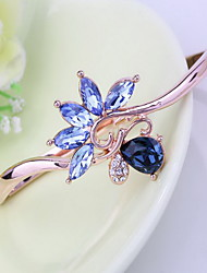 Mulheres Bracelete Jóias Natureza Moda Vintage Confeccionada à Mão Cristal Liga Estrela Jóias ParaCasamento Festa Aniversário Reunião de