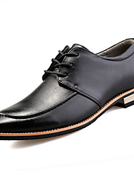 Men's Shoes PU Spring Fall Formal Shoes Oxfords For Casual Office & Career Black Yellow