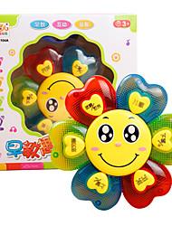 Аксессуары для кукольного домика Игрушка для обучения чтению Цветы Пластик Для детей