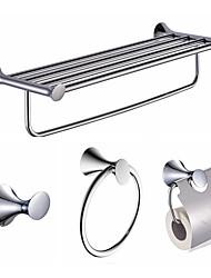 Set di accessori per il bagno / Galvanizzato Contemporaneo