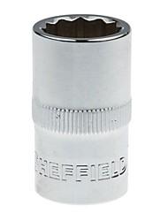Bouclier en acier 10 mm série métrique 6 angle allongé manchon 9 mm / 1 support