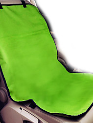 Chien Housse pour Siège de Voiture Animaux de Compagnie Couvertures Couleur Pleine Portable Pliable Noir Rouge Rose Rouge Vert Bleu