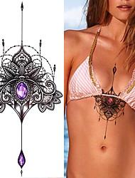 Tatuaggi adesivi Altro Non Toxic Waterproof Da donna Tatuaggio temporaneo Tatuaggi temporanei