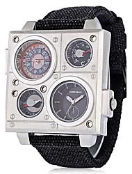 Homens Adulto Relógio Esportivo Relógio Militar Relógio Elegante Relógio de Moda Relógio de Pulso Bracele Relógio Único Criativo relógio