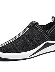 Men's Sneakers Spring Summer Comfort Light Soles Tulle Outdoor Athletic Low Heel Running