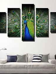 Impression d'Art Contemporain,Cinq Panneaux Format Horizontal Imprimé Décoration murale For Décoration d'intérieur