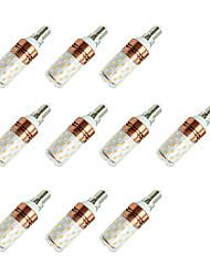 8W Bombillas LED de Mazorca T 60 SMD 2835 800 lm Blanco Cálido Blanco Fresco V 10 piezas