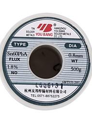 Serie di filo di saldatura attivo serie sn60pba - 0.8mm - 500 - g / volume