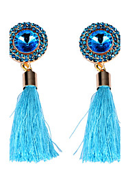 Women's Drop Earrings Unique Design Tassel Alloy Jewelry Jewelry For Party Daily Casual Stage 1 pair