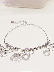925 Sterling Silver Chains Han Edition Presents Fashion Accessories