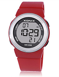 Women's Kid's Sport Watch Smart Watch Digital Water Resistant / Water Proof Noctilucent Rubber Band White Blue Red Purple
