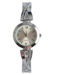 Women's Fashion Watch Japanese Quartz / Alloy Band Elegant Casual Silver