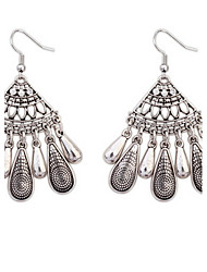 Women's Stud Earrings Drop Earrings Hoop Earrings RhinestoneBasic Unique Design Logo Style Tassel Friendship Sideways Multi-ways Wear