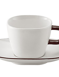 European Style Coffee Cup Set Set With Spoon