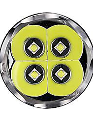 Lanterne LED LED 4000 Lumeni 5 Mod Cree 18650 Reîncărcabil Dimensiune Compactă Intensitate Luminoasă Reglabilă Camping/Cățărare/Speologie