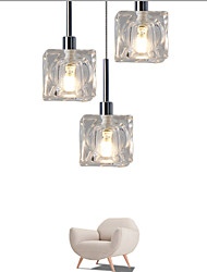 3 Lights Led Pendant Light  Modern/Contemporary Led G4 Bulb Included/ Dinning Room Coffee Bar Office Light