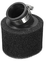 38mm black ramp air filter