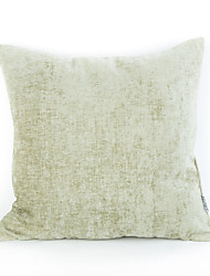 Chenille Pillow Case- Light Green