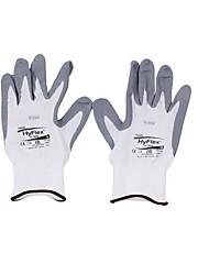 Перчатки с белым нейлоновым покрытием ansell с белым покрытием -9/1
