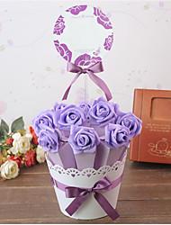10/Group Creative Wedding Wedding Flower POTS And joyful Bag Box Sugar Candy Box