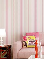Contemporary Wallpaper Art Deco Stripes Self Adhesive Wallpaper Wall Covering Non-woven Fabric Wall Art