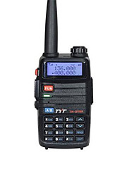 Tyt th-uv8r dmr dual banda walkie talkie impermeable auricular 256ch dos vías de radio