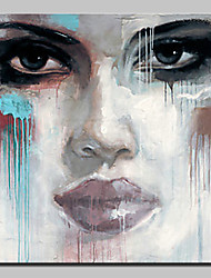 Hand Painted Abstract Face Oil Painting On Canvas Modern Wall Art Picture For Home Decoration Ready To Hang