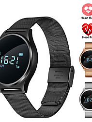 Women's Men's Smart Bracelet Heart Rate Blood Pressure Monitor Smartband Bluetooth Fitness Tracker Wristband For Android IOS Phone