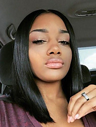 Hot Sale Straight Short Bob Wigs For Women Natural Hairline Lace Front Wig Glueless Full Lace Wigs With Large Stocks