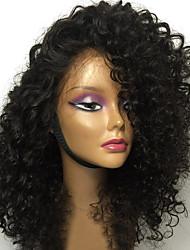 Novo estilo 150% de densidade peruca de cabelo preta natural com pernas pretas com cabelo natural de alta qualidade com pernas de renda