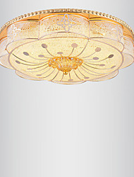 Modern Luxury 60W LED Ceiling Light Bedroom LED Absorb Dome Light Three Light Color Dimming Diameter 48cm