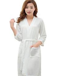 Bath RobeSolid High Quality 100% Polyester Towel