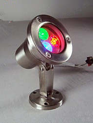 1PCS 3W RGB IP68 Dc12V Underwater Light 360LM