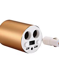 Быстрая зарядка USB2.0 Светодиодный дисплей Несколько портов Другое 2 USB порта Только зарядное устройство DC 5V/3.1A