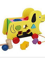 Обучающая игрушка Игры с последовательностью Для получения подарка Конструкторы Собаки Дерево 2-4 года 5-7 лет Игрушки