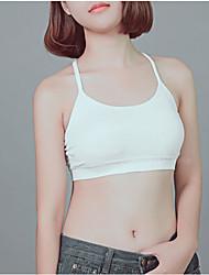 Damen Solide Sexy Tank Tops,Trägerlos Ärmellos Nylon