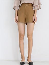 Women's High Rise Micro-elastic Loose Pants,Vintage Loose Solid