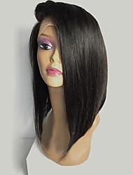 New Style Brazilian Hair Short Bob Wigs Straight Hair Front Lace Human Hair Wigs Virgin Hair Bob Wig for Woman