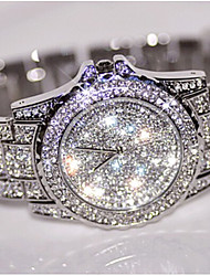 Women's Dress Watch Fashion Watch Wrist watch Bracelet Watch Unique Creative Watch Simulated Diamond Watch Pave Watch Chinese Quartz