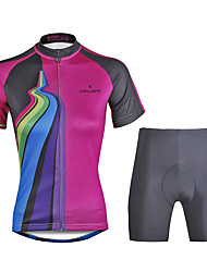 PaladinSport Women Cycyling Jersey  Shorts Suit DT749