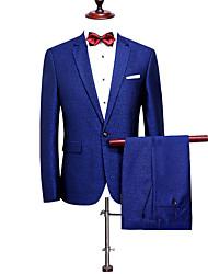 Costume / Tailleur Homme,Couleur Pleine MotifMariage Soirée Occasion spéciale Anniversaire Fête/Soirée Fiançailles Quotidien Cérémonie