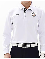 Homme Manches Longues Golf Hauts/Tops Golf