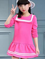 Vestido Chica de Color Sólido