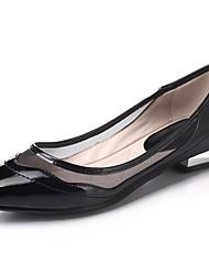 Mujer Zapatos de taco bajo y Slip-OnsBailarina Mary Jane Gladiador Zapatos para niña florista Suelas con luz Zapatos del club Zapatos