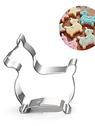 Kid Jumpping Rody Horse Cookies Cutter Stainless Steel Biscuit Cake Mold Metal Kitchen Fondant Baking Tools