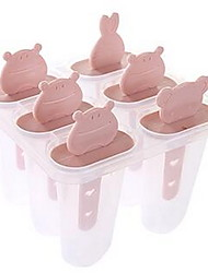 6pcs per Set Mold for Ice Plastic Ice Cream