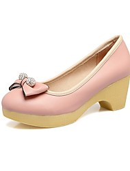 Women's Loafers & Slip-Ons Club Shoes Mary Jane Gladiator Formal Shoes Comfort Novelty Flower Girl Shoes Tiny Heels for Teens Light Soles
